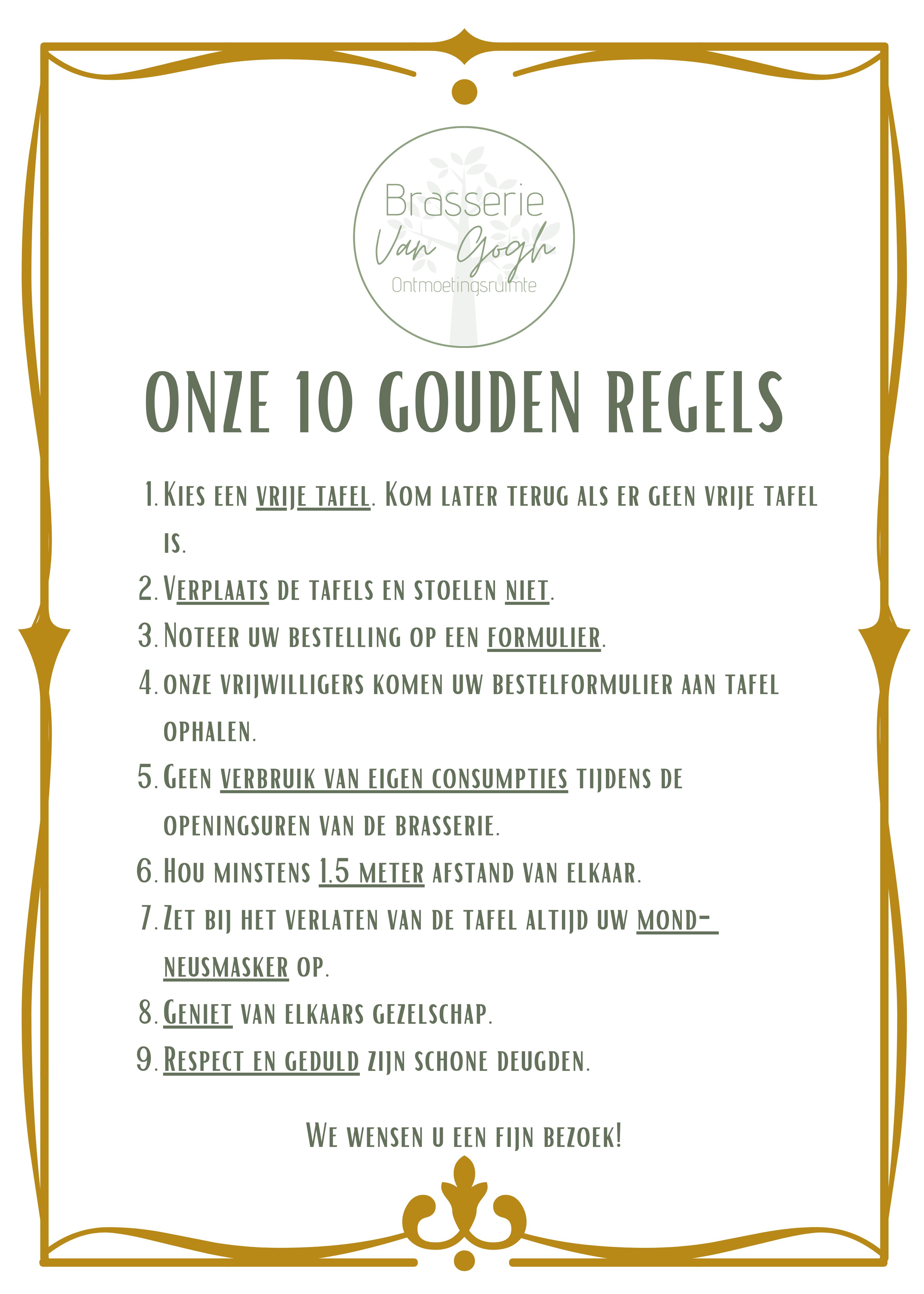10 gouden regels 09052021