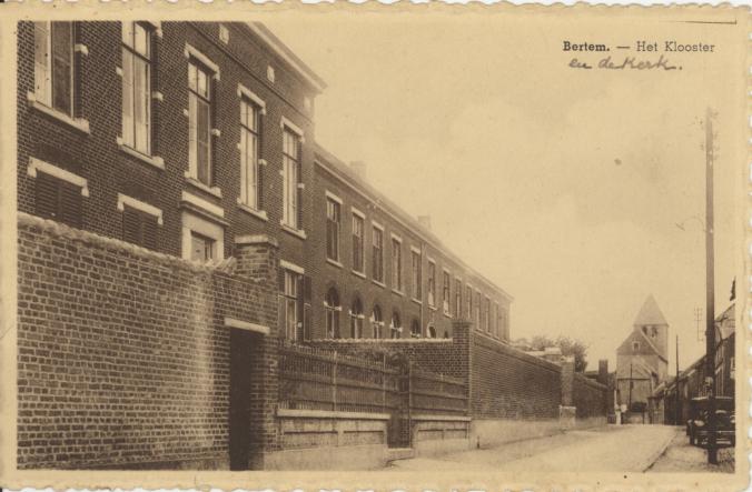 Beeld Bertem vroeger klooster